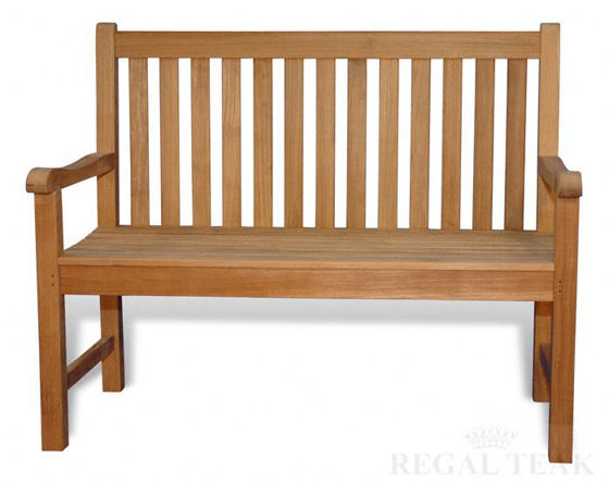 Picture of Teak Block Island Bench 4ft