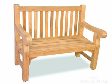 Picture of Teak Hyde Park 4 ft bench