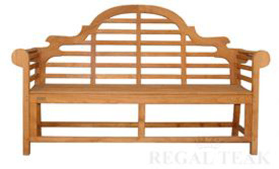 Picture of Teak Marlboro Lutyens Bench 3str