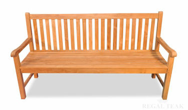 Picture of Teak Block Island Bench 6ft