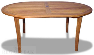 Picture of Teak Captiva Oval Table