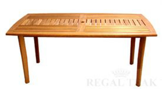 Picture of Teak Sutton Rectangular Table