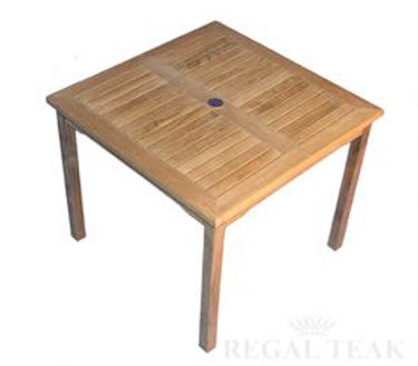 Picture of Teak 48in Square Bistro Table