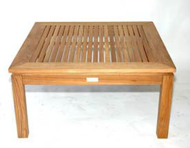 Picture of Teak Square Coffee Table Large, 6045