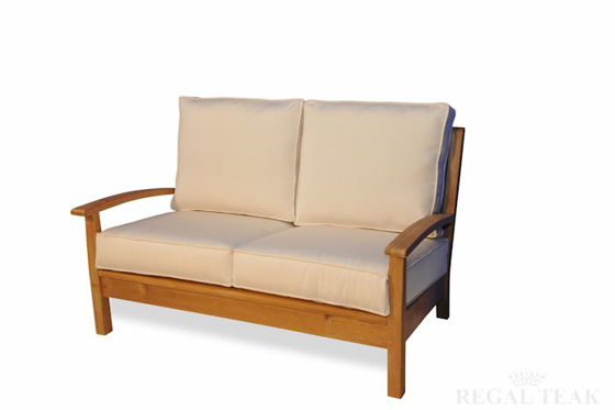 Picture of Teak Deep Seating 2 Seater Loveseat