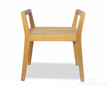 Picture of Teak Shower Bench with arms