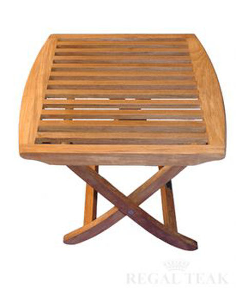 Picture of Teak End Table or Footstool Salisbury