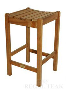 Picture of Teak Bar Stool