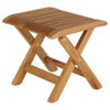 ASCOT RECLINER FOOTSTOOL / SIDE TABLE