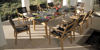 MONTEREY DINING TABLE 300 RECTANGULAR - TEAK & CERAMIC