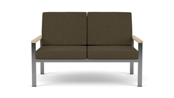 EQUINOX OCCASIONAL TWO-SEATER SETTEE