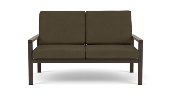 EQUINOX PAINTED TWO-SEATER SETTEE DS