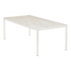 EQUINOX PAINTED DINING TABLE 200 CERAMIC TOP