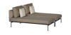 LAYOUT DEEP SEATING DOUBLE CHAISE